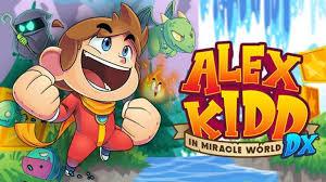 ALEX KIDD IN MIRACLE WORLD DX REMAKE