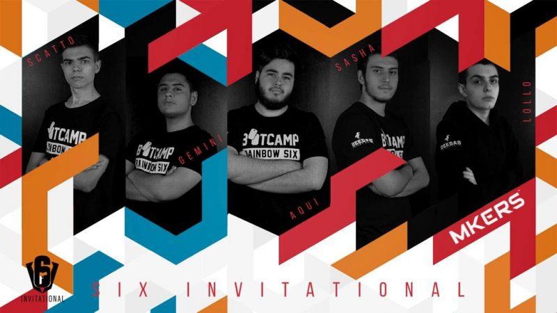 Mkers entra nella storia dell'eSport italiano, divenendo il primo team nostrano di Rainbow Six Siege a qualificarsi al Six Invitational