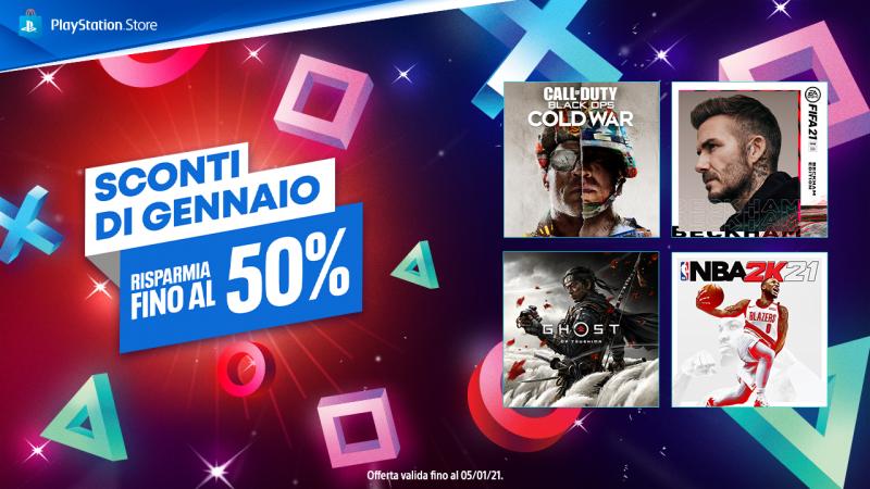 A partire da oggi, 22 dicembre, fino al 19 gennaio, tante offerte imperdibili targate PlayStation