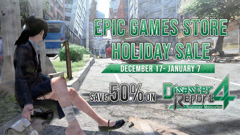 Disaster Report 4: Summer Memories è su Epic Games Store!