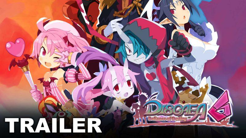 Disgaea 6: Defiance of Destiny rilascia un nuovo trailer dei personaggi