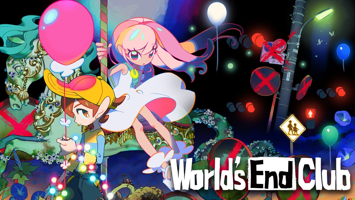 World's End Club arriverà su Nintendo Switch ™ il 28 maggio 2021!