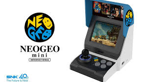 Unboxing neo geo mini