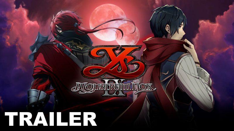Ys IX: Monstrum Nox sarà disponibile su Nintendo Switch e PC a luglio 2021!