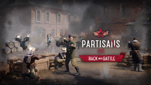 "Torna al fronte con Partisans 1941 Nuovo DLC ""Back Into Battle"""