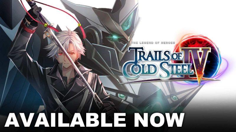 Trails of Cold Steel IV è ora disponibile su Nintendo Switch e PC!