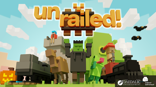 Unrailed! arriva in  versione fisica su Switch questa settimana!