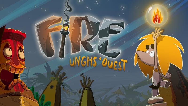 Caveman No Need Big Words – Fire: Ungh's Quest porta l'Età della Pietra su Nintendo Switch oggi