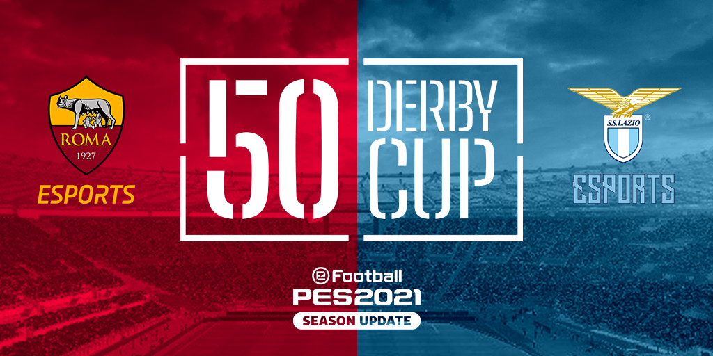 50 DERBY CUP: L'ESITO DEL DERBY DELLA CAPITALE ORA PUOI DECIDERLO TU