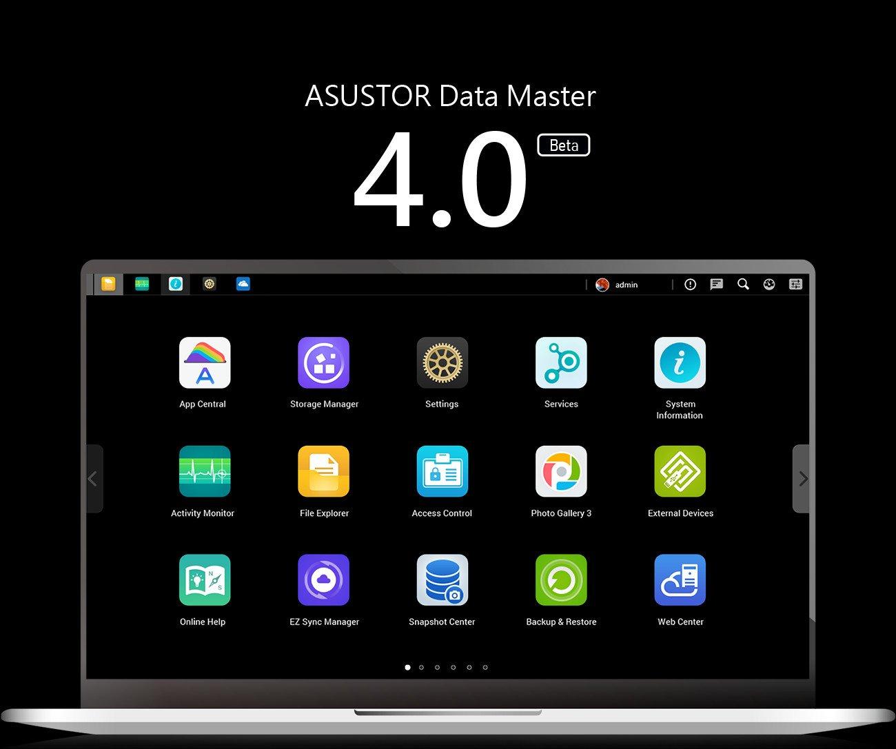 ASUSTOR annuncia la disponibilità di ADM 4.0 Beta