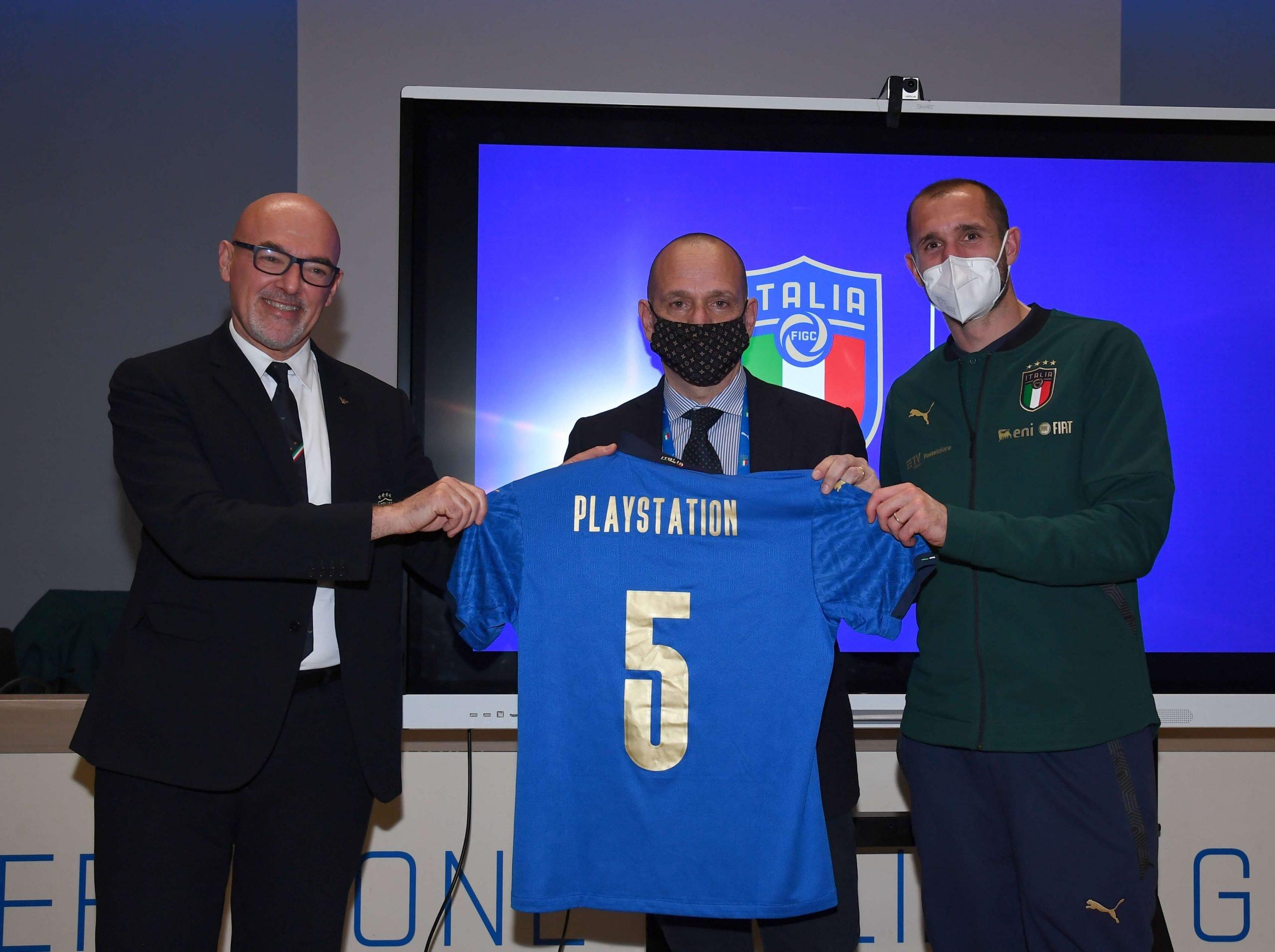PlayStation official console partner della Nazionale Italiana di calcio