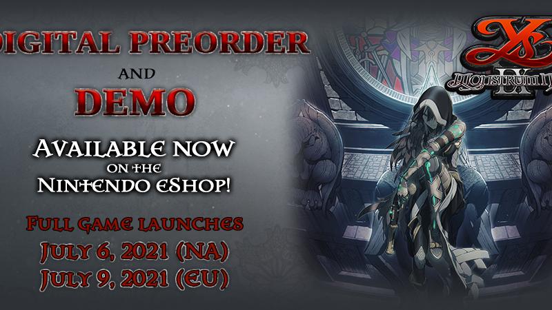 Ys IX: la demo di Monstrum Nox è ora disponibile per PC