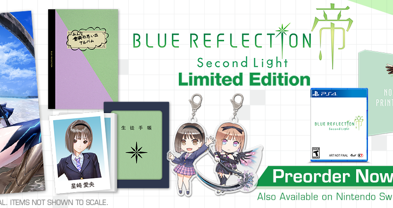 BLUE REFLECTION: Second Light Limited Edition Available for Preorder