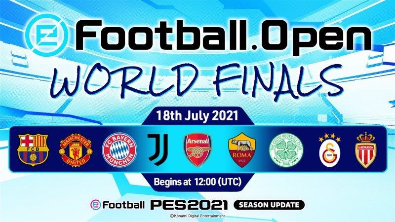 eFootball.Open SI CHIUDE CON LE WORLD FINALS, IN ONDA QUESTA DOMENICA