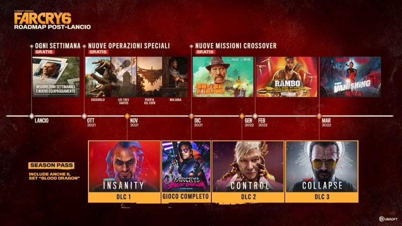 Ubisoft rivela il piano dei contenuti post lancio di Far Cry 6