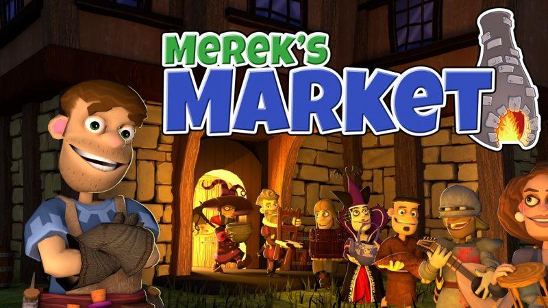 Arrotola! Arrotola! Il mercato di Merek è ora aperto per le imprese!