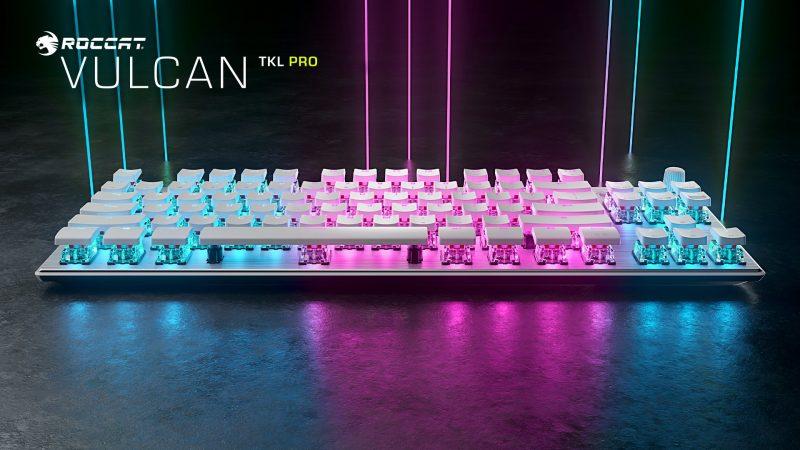 ROCCAT News | Ecco la Tastiera Gaming Vulcan TKL PRO White